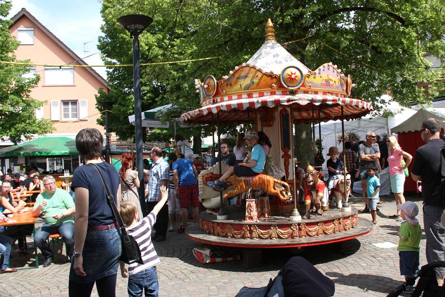 Dorffest Kinderkarussel