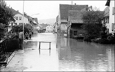 Jahrhunderthochwasser - Hauptstraße